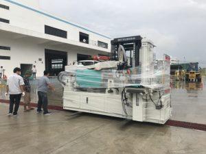 Construction of forklift truck rental at Wolong Hai Phong Vietnam 2