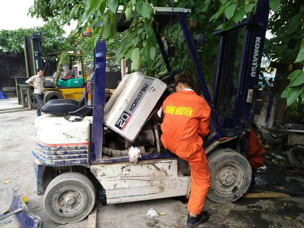 Need to repair forklift in Hai Phong should choose which company?